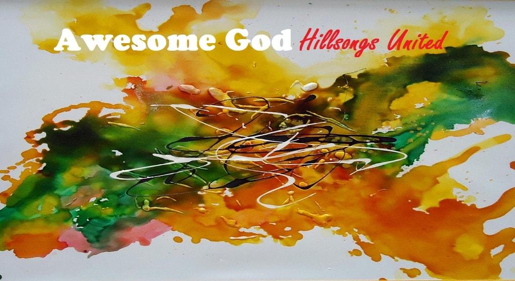 Awesome God chords